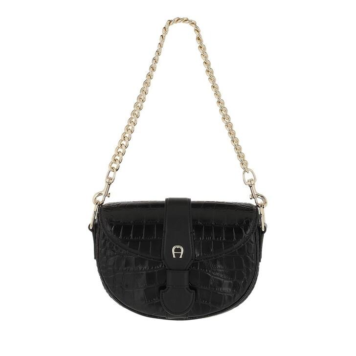 bags, AIGNER, Calla Mini Bag Black