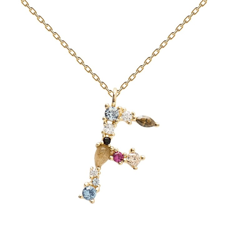 Kette, PDPAOLA, F Necklace Yellow Gold