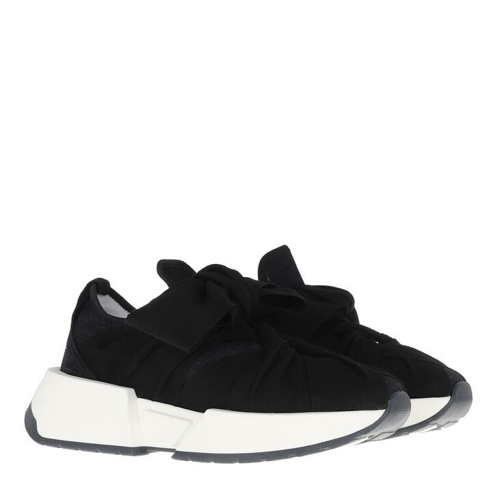 shoes, MM6 Maison Margiela, Sneakers Dark Navy Black