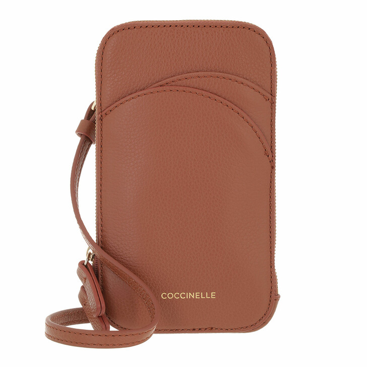 smart_cases, Coccinelle, I-Tech Cell Phone Holder Cinnamon