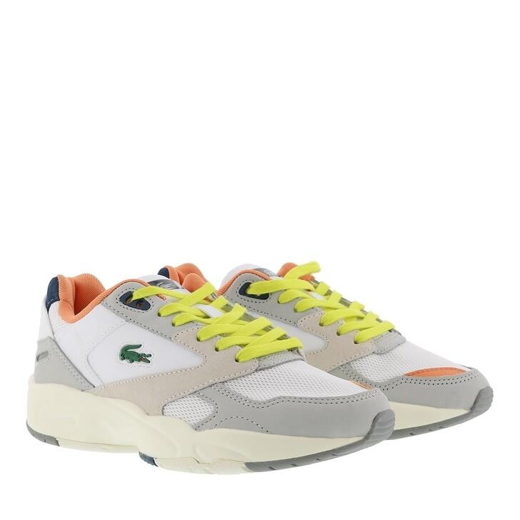 Schuh, Lacoste, Storm Sneaker Shoes Light Grey/Dark Blue