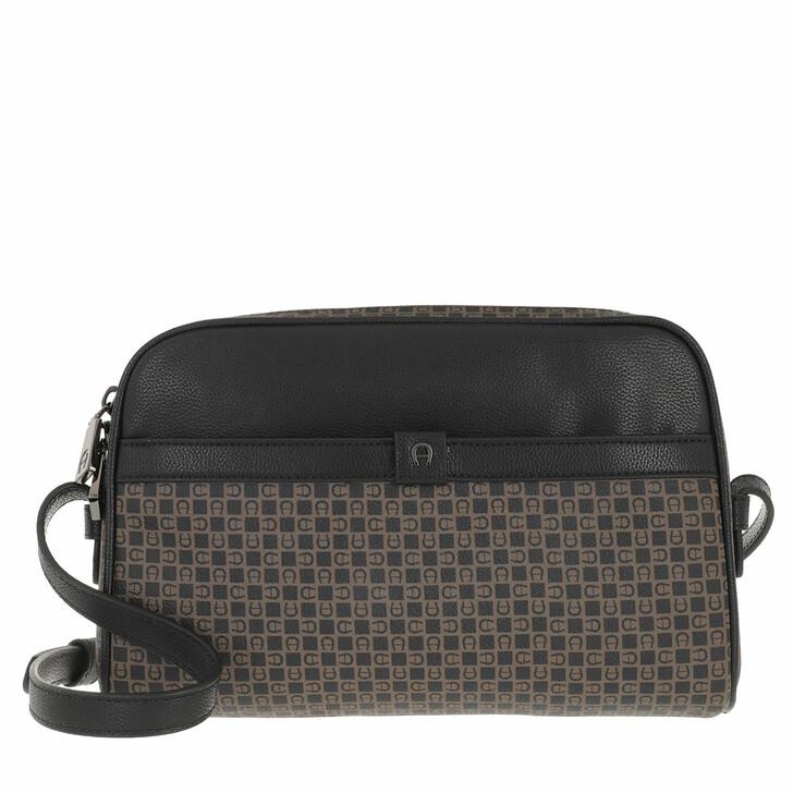 bags, AIGNER, Adria Crossbody Bag Dadino Brown