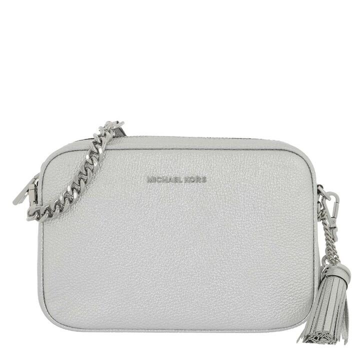 Handtasche, MICHAEL Michael Kors, Ginny Medium Camera Bag Silver