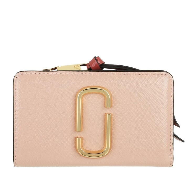 Geldbörse, Marc Jacobs, The Snapshot Compact Wallet New Rose