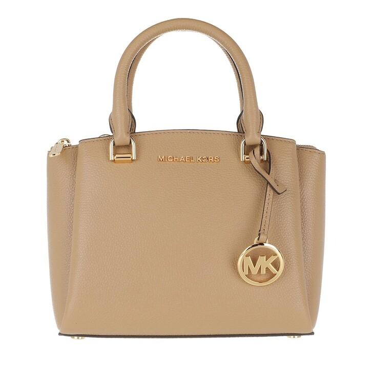 Handtasche, MICHAEL Michael Kors, Small Messenger Camel