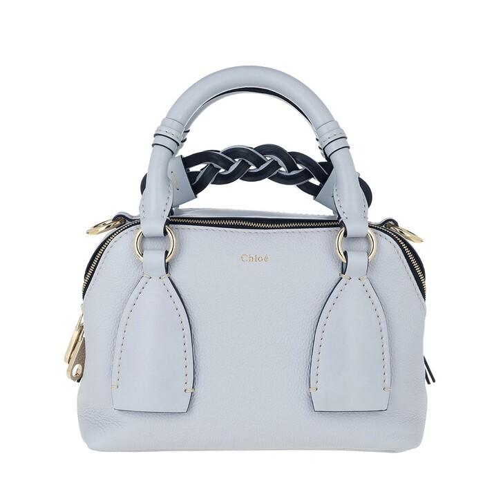 Handtasche, Chloé, Daria Shoulder Bag Small Light Cloud