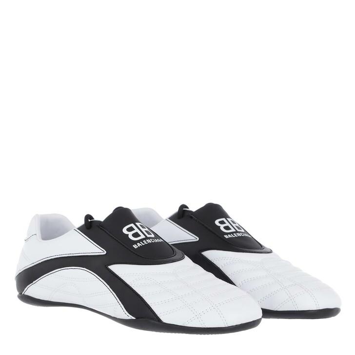 shoes, Balenciaga, Zen Sneakers Leather White/Black