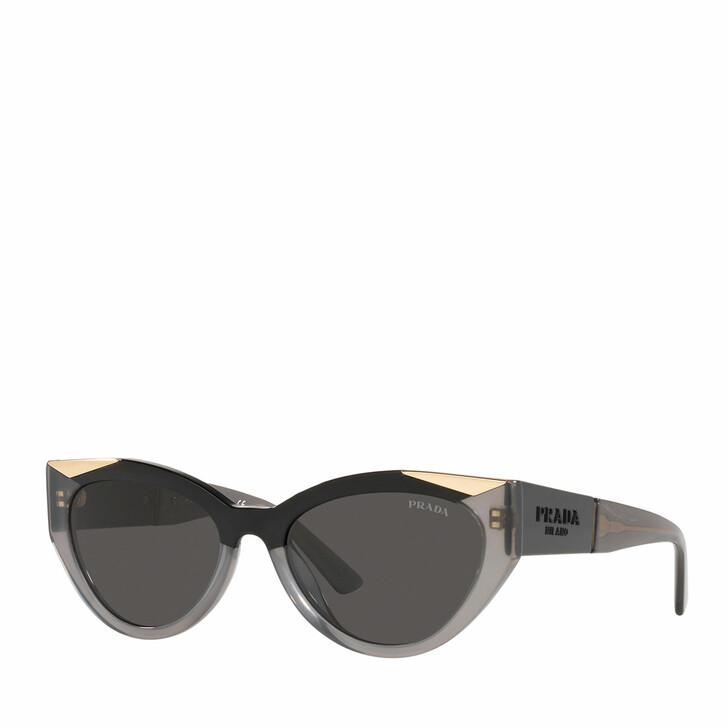 sunglasses, Prada, 0PR 03WS BLACK/OPAL GREY