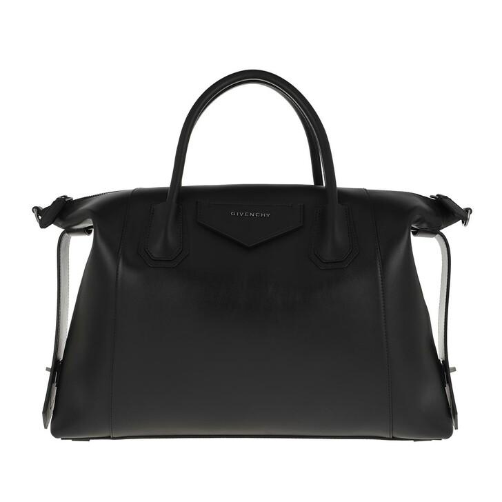 Handtasche, Givenchy, Antigonia Soft Medium Crossbody Bag Calfskin Black