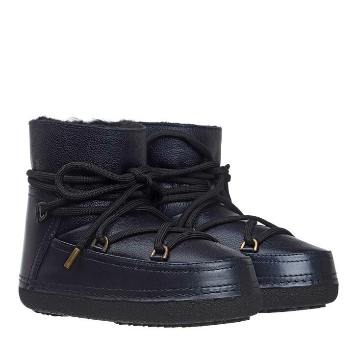 Schuh, INUIKII, Leather Boots Night Blue