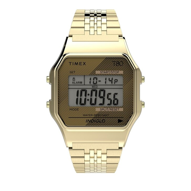 Uhr, Timex, Timex 80 Watch Yellow Gold
