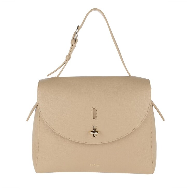 Handtasche, Furla, Net M Top Handle Sand