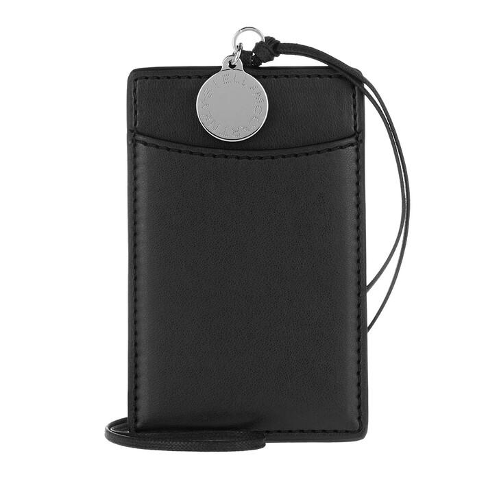 wallets, Stella McCartney, Card Holder Eco Alter Nappa Black