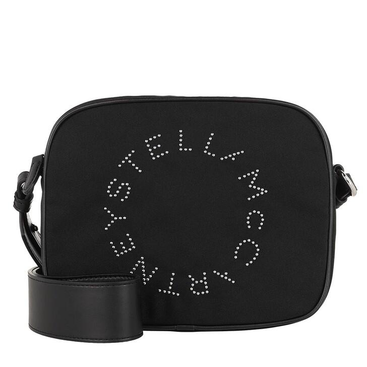 Handtasche, Stella McCartney, Small Camera Crossbody Bag Eco Nylon Black
