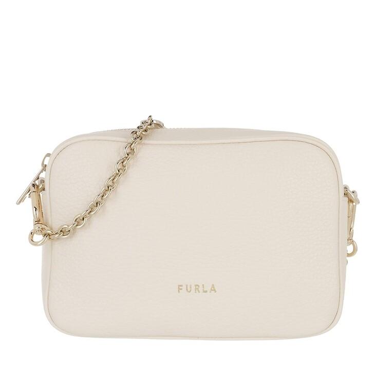 bags, Furla, Furla Real Mini Camera Case - Vitello St.Eracle Pergamena