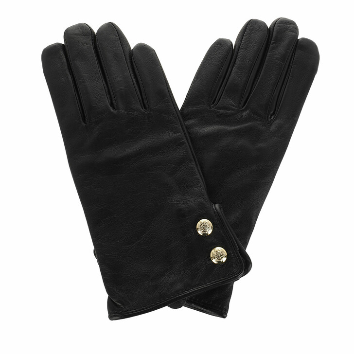 Handschuh, Lauren Ralph Lauren, Glove Leather Black