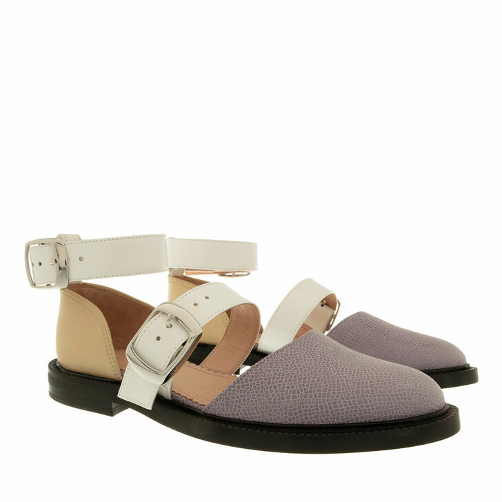 Schuh, INCH2, Lilac Closed Toe Sandals multi