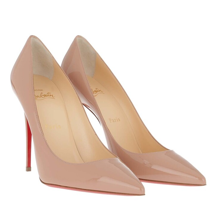 Schuh, Christian Louboutin, Kate 100 Pumps Patent Leather Nude