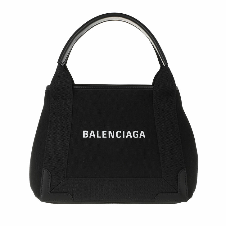 Handtasche, Balenciaga, Borsa Navy Cabas XS AJ Polyamide Black