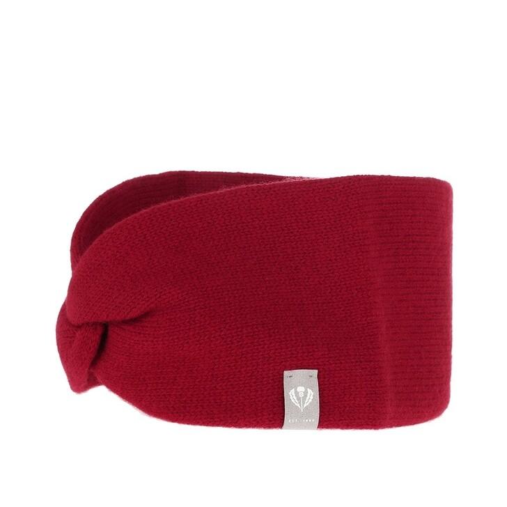 Schal, FRAAS, Headband Cashmere Red