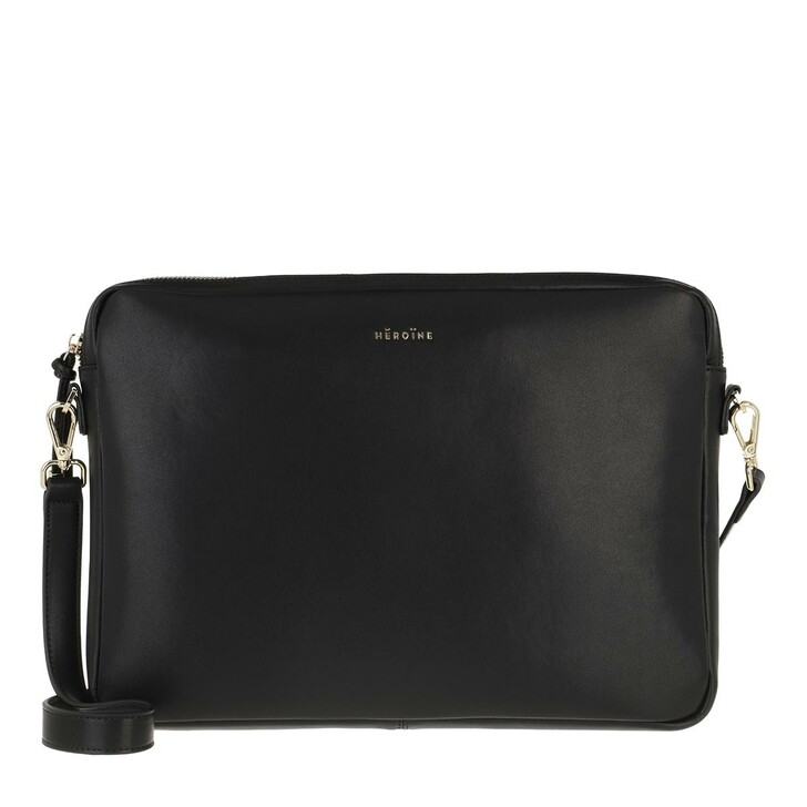 "Handtasche, Maison Hēroïne, Jamie 13"" Laptop Bag Black"