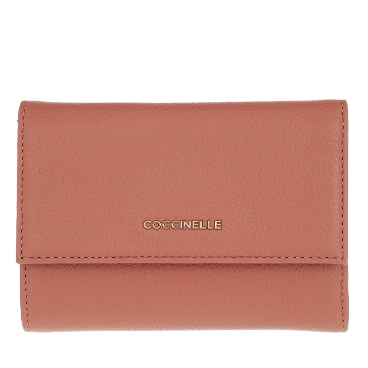 Geldbörse, Coccinelle, Metallic Soft Wallet Litchi