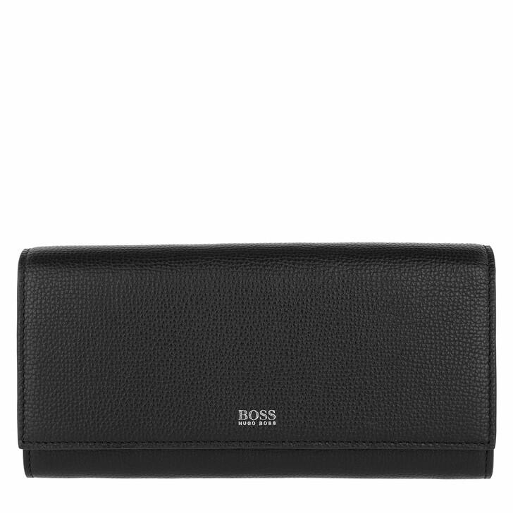 wallets, Boss, Taylor Continental Wallet Black
