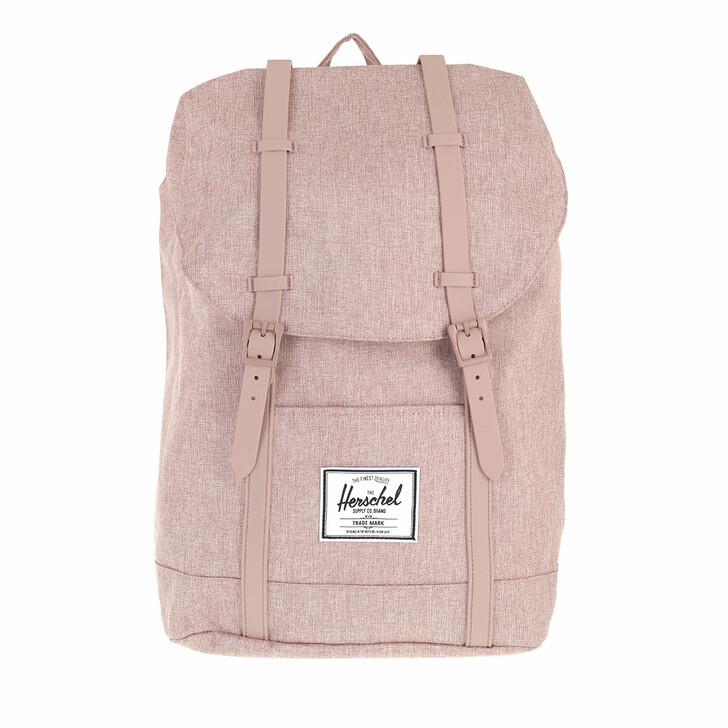bags, Herschel, Retreat Backpack Ash Rose