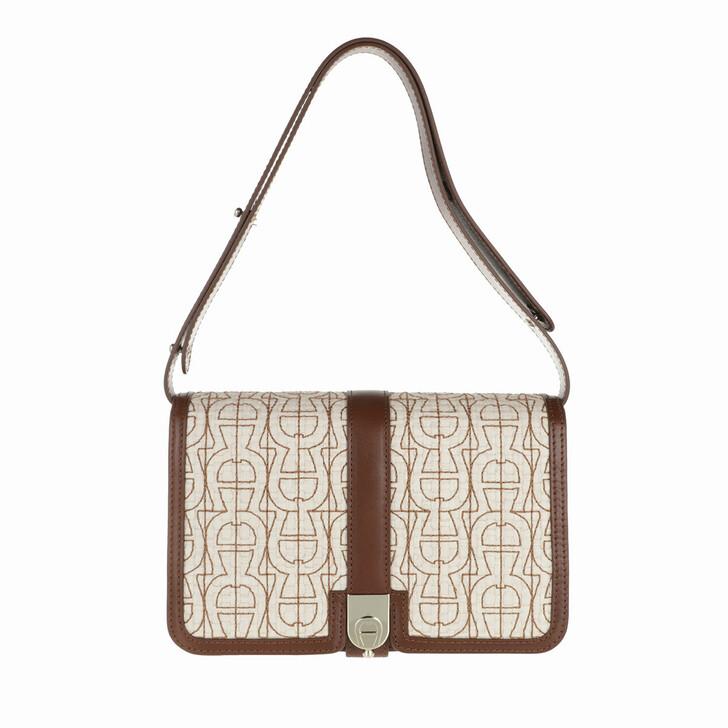 bags, AIGNER, Handle Bag Root Brown