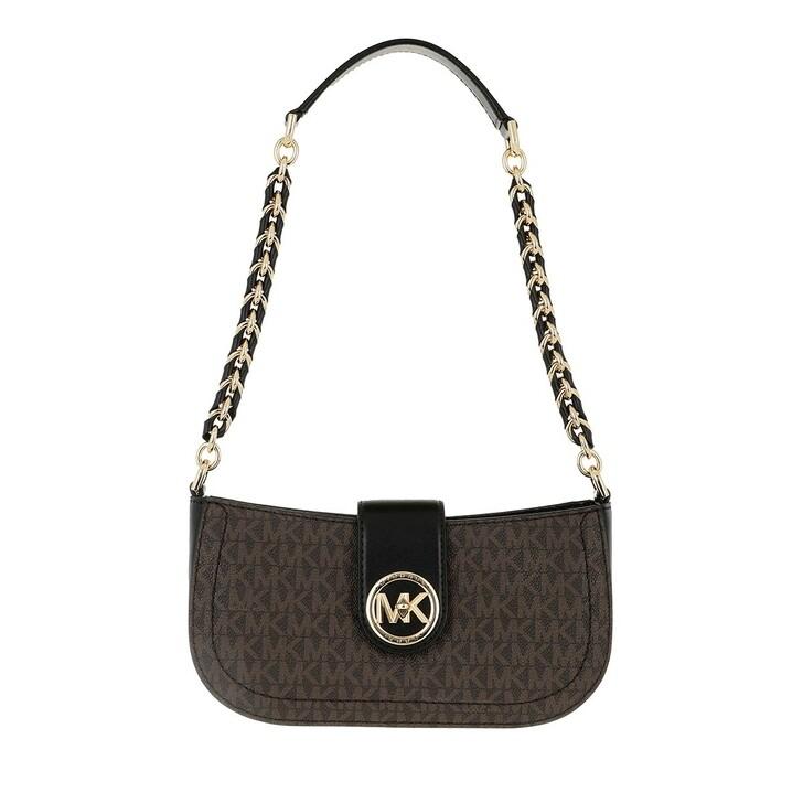 Handtasche, MICHAEL Michael Kors, Xs Pouchette Brown/Black