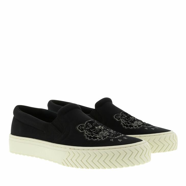 Schuh, Kenzo, Slip On Sneakers Black