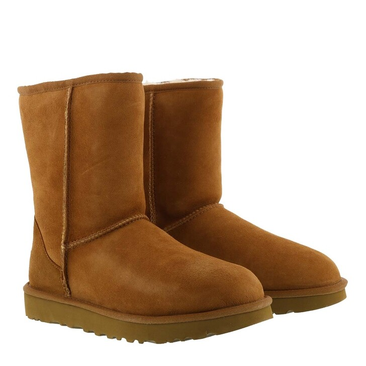 shoes, UGG, Classic Short Boot Chestnut
