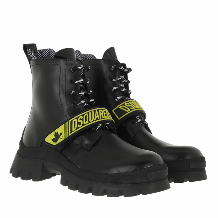shoes, Dsquared2, Ankle Boots Black