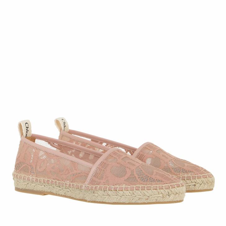 shoes, Chloé, Woody Espadrilles Pink Tea