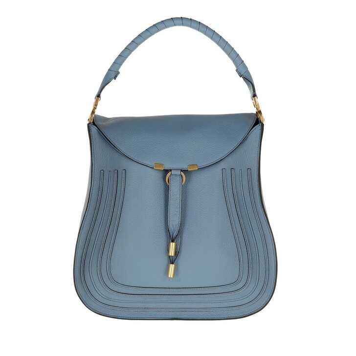 bags, Chloé, Marcie Tote Bag Leather Gentle Blue
