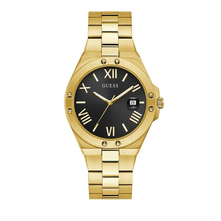 watches, Guess, Mens Watch Perspective Gold
