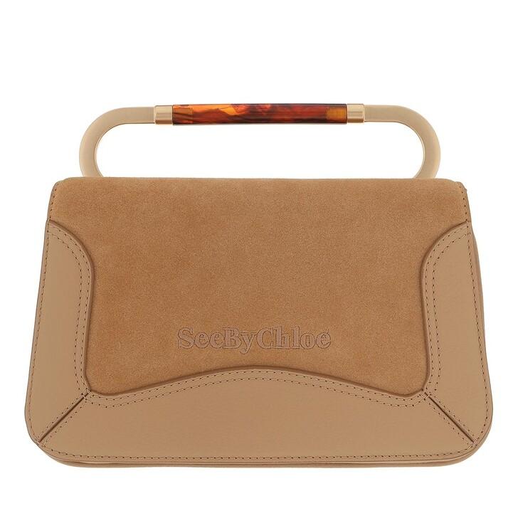 bags, See By Chloé, Ella Shoulder Bag Coconut Brown