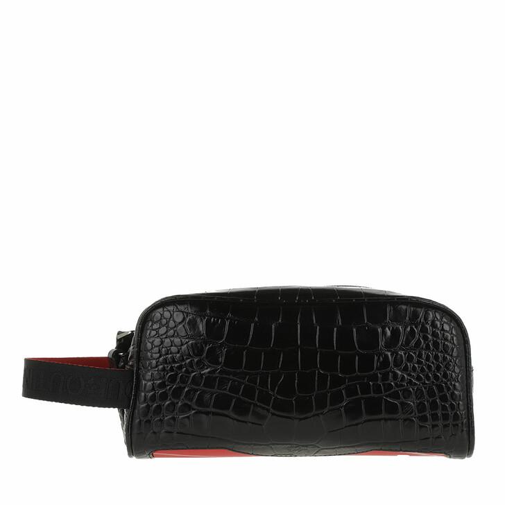 necessaires, Christian Louboutin, Blaster Make Up Bag Black