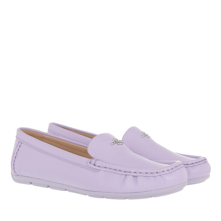 Schuh, Coach, Marley Leather Driver Bright Lilac