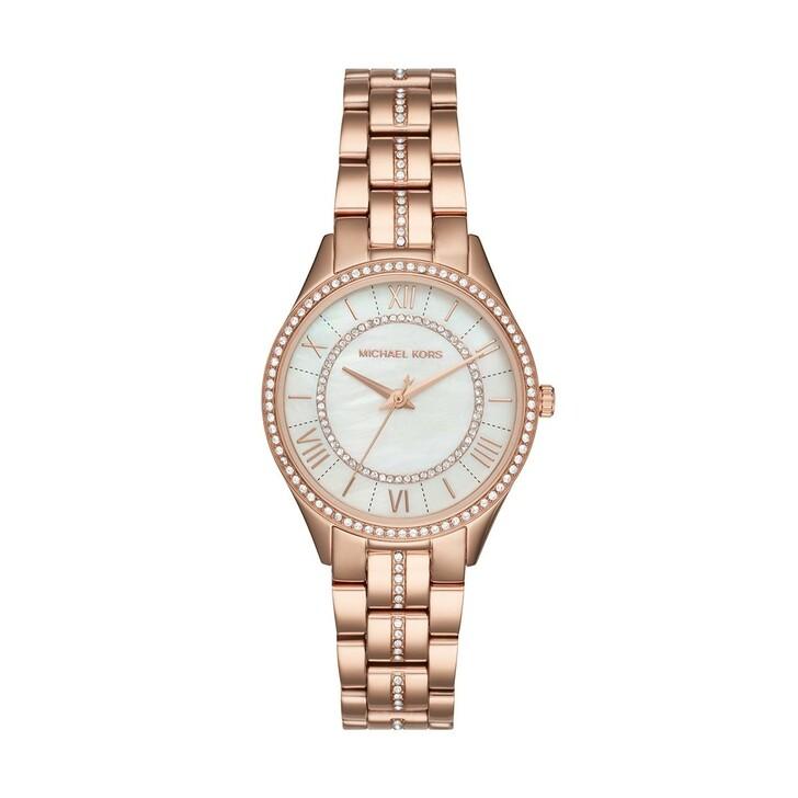 watches, Michael Kors, Lauryn Ladiesmetals Watch Rosegold