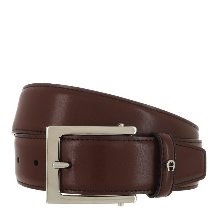 belts, AIGNER, Belt Antic Red