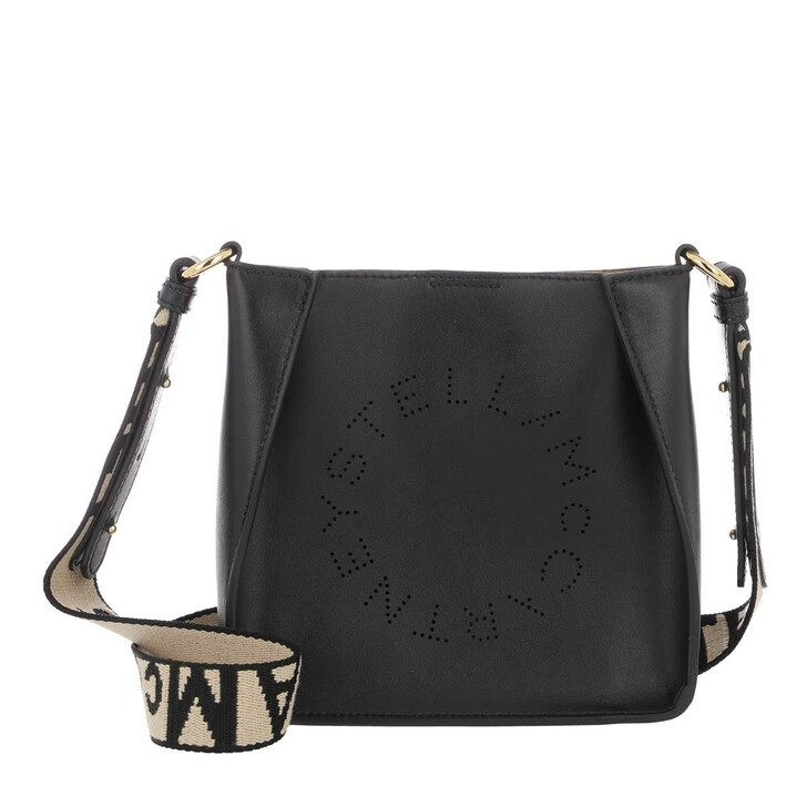 Handtasche, Stella McCartney, Eco Soft Small Hobo Bag Nappa Black