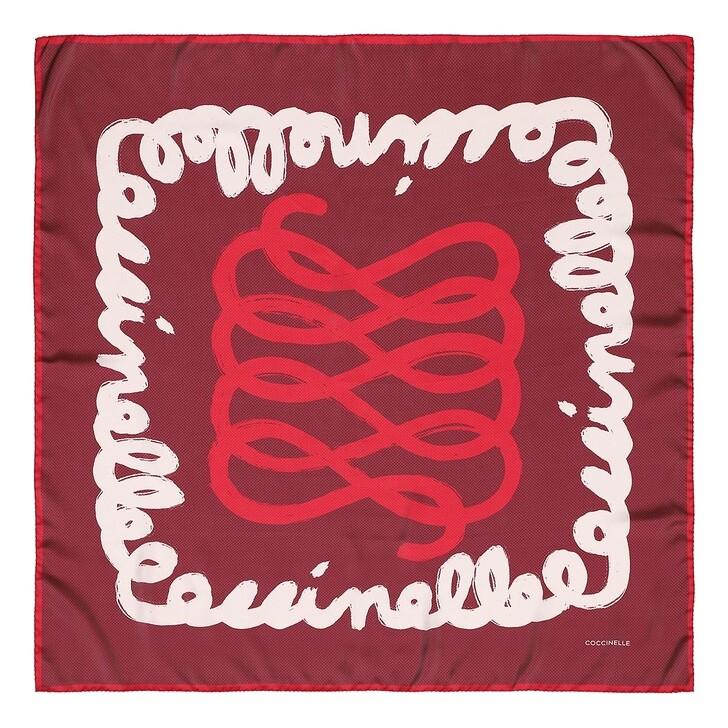 scarves, Coccinelle, Scarves Foulard 90X90  Marsala