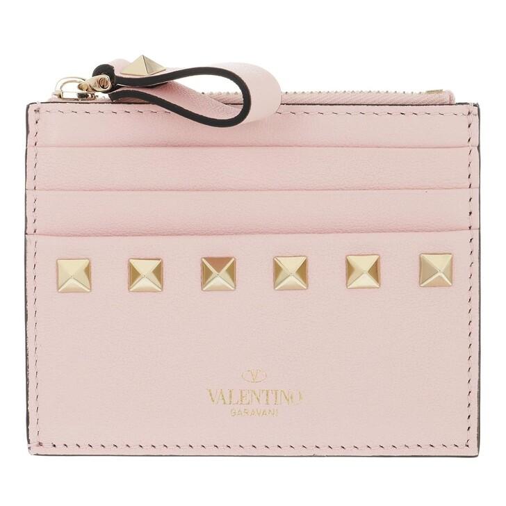 Geldbörse, Valentino, VLTN Small Wallet Leather Rose Quartz
