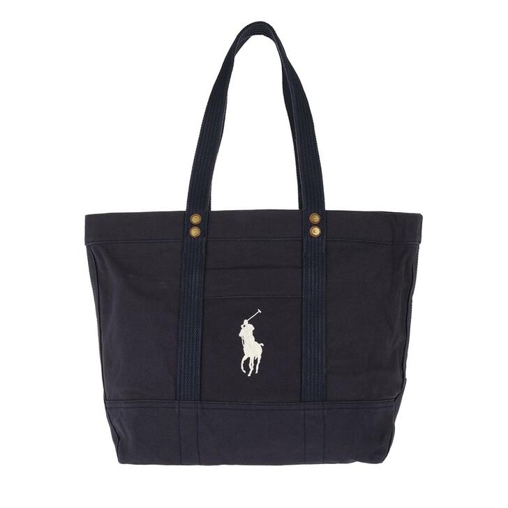 Handtasche, Polo Ralph Lauren, PP Tote Bag Canvas Navy