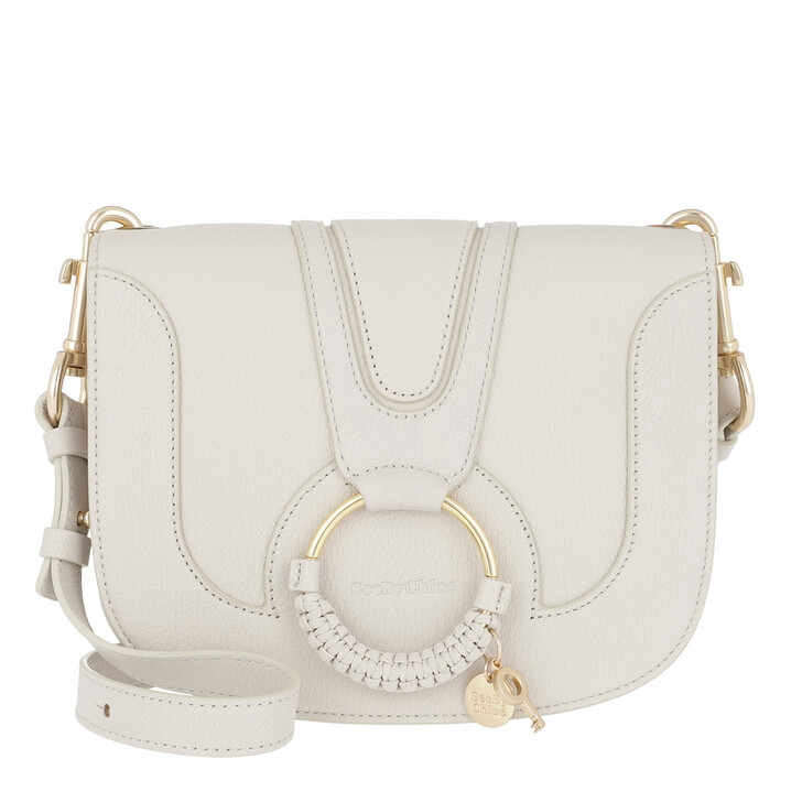 Handtasche, See By Chloé, Hana Medium Shoulder Bag Cement Beige