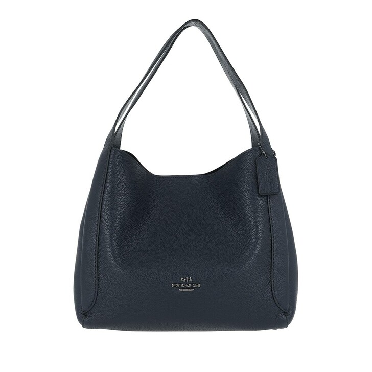 Handtasche, Coach, Polished Pebble Leather Hadley Hobo Gm/Midnight Navy