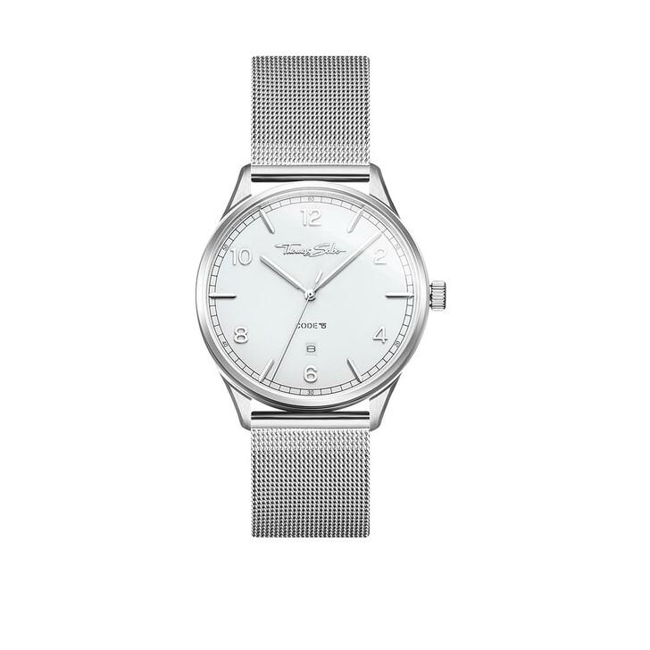Uhr, Thomas Sabo, Code TS Watch Silver