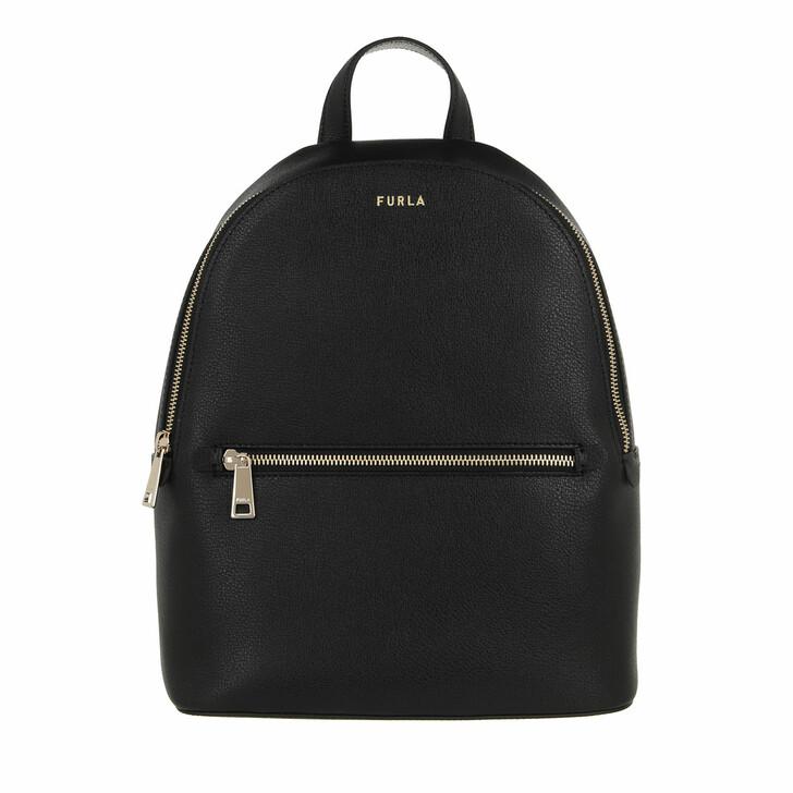 bags, Furla, Furla Libera M Backpack Nero