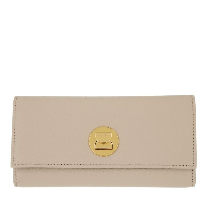 wallets, Coccinelle, Liya Wallet Grainy Leather  Powder Pink